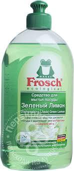 Купить <b>Средство для мытья</b> посуды <b>Frosch</b> Зеленый лимон ...