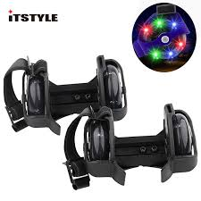 ITSTYLE <b>Colorful Flashing Roller</b> Whirlwind Pulley Flash Wheels ...