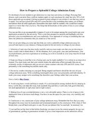 College Application Essay Writing Service How To Write A Great     FSGF