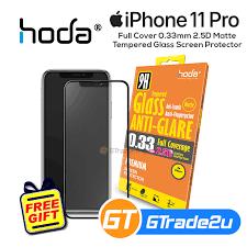 Hoda <b>Full</b> Cover 0.33mm 2.5D <b>Matte Tempered Glass</b> Screen ...