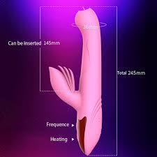 Tongue <b>Telescopic Vibrator</b> Soft Silicone Heating Clitoral <b>Stimulator</b> ...