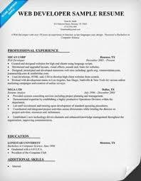 images about larry paul spradling seo resume samples on    web developer resume sample  resumecompanion com
