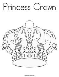Small Picture Princess Crown Coloring Page Twisty Noodle