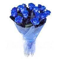 <b>Букет</b> из роз <b>Букет</b> из 15 синих роз «<b>Звёздная ночь</b>» - Цветы ...