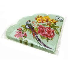 <b>Салфетки Art Bouquet</b> Rondo круглые 3-слойные (много расцветок)