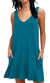 BISHUIGE <b>Women</b> Summer Casual T Shirt <b>Dresses</b> Beach Cover up ...