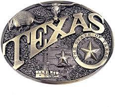 Modern Texas <b>Belt Buckle</b> Brass Heritage <b>Western</b> Star Bull Buckles ...