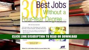knock em dead resumes a killer resume gets more job 300 best jobs out a four year degree best jobs online books