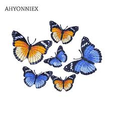 1pc Small 3.7cm x 3.1cm Cheap <b>Iron On Butterfly</b> Patch for Clothes ...