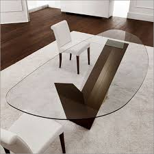 Small Picture Modern Contemporary Glass Top Dining Tables Bedroom and Living