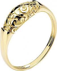 <b>Кольцо коллекции Totem</b> Fox/Лиса из жёлтого золота, цветы (без ...