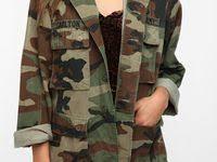10+ Best <b>Military</b> Jacket <b>Women</b> Outfit images   <b>military</b> jacket ...