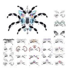 <b>1 Sheet</b> Tattoo Sticker Fashion Handpicked <b>3D</b> Crystal <b>Acrylic</b> Drill ...