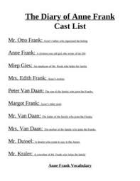 images about anne frank unit on pinterest   anne frank  the    do you teach the diary of anne frank  cast list for play  essay questions