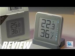 REVIEW: Xiaomi <b>E</b>-<b>Ink</b> Thermometer Hygrometer Gadget?! - YouTube