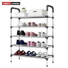 Simple Fashion <b>Six Layers</b> Multi purpose Shoe Rack Non woven ...