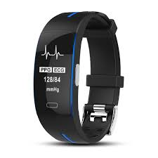NEW P3 <b>Smart</b> Band ECG+<b>PPG</b> Monitor Blood Pressure <b>Watch</b> Real ...
