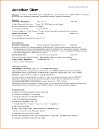 resume objectives for internships juiceletter internship resume objective examples education in major business administration and work experience as finance internship or leadership experience as