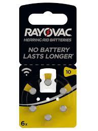 <b>Батарейки</b> для слуховых аппаратов 105 mAh <b>RAYOVAC</b> ...