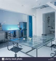 glass table plan modern