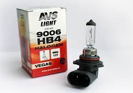 <b>Лампа</b> галогенная <b>AVS Vegas</b> HB4/9006.12V.55W (1 шт.) оптом от ...