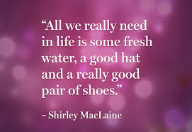 Shirley MacLaine Quotes. QuotesGram via Relatably.com