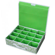<b>Коробка для хранения</b> нижнего белья (16 ячеек) с откидной ...