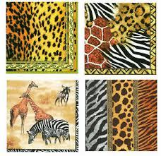 Бумажные <b>салфетки</b> с животным принтом - огромный выбор по ...