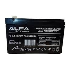 Купить Аккумуляторная батарея <b>ALFA Battery</b> FB7.2-12, <b>12V</b>, 7Ah ...