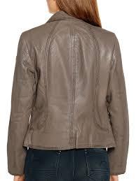 <b>Milestone</b> Кожаная <b>куртка</b>, серо-коричневый