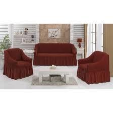 <b>Набор чехлов для</b> дивана и кресел Bulsan, 3-х предметный, цвет ...