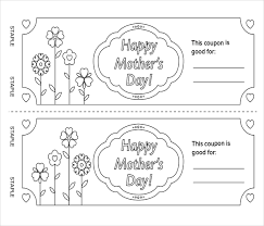 Coupon Templates – 17+ Free Word, PDF, PSD Documents Download ... Mothers Day Coupon Book PDF Template