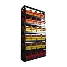 <b>Стеллаж</b> складской с пластиковыми <b>ящиками</b> 700 1800x960x300 ...