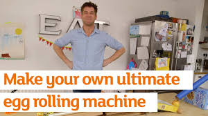 Make your own ultimate <b>egg rolling machine</b> | How To | Sainsbury's ...