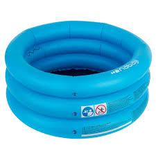 Small round <b>inflatable</b> paddling pool with three chambers width <b>70</b> ...