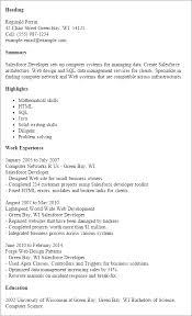 Salesforce Administrator Resume Sample   Resume Examples aploon Salesforce Analyst Resume