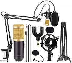 Techtest <b>BM800</b> Broadcasting <b>Studio</b> Recording <b>Condenser</b> ...