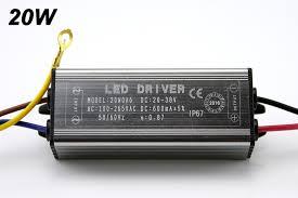 KARWEN LED Driver <b>10W</b> 20W 30W 50W <b>Adapter</b> Transformer ...