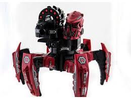 <b>Радиоуправляемый робот</b>-паук Keye Toys Space Warrior, лазер ...