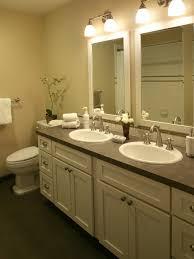 counter bathroom sinks laminate