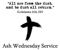 Image result for ashes for ash wednesday