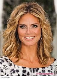 Heidi Klum Tousled Bob Hairstyle - heidi-klum-tousled-bob-hairstyle-becomegorgeous