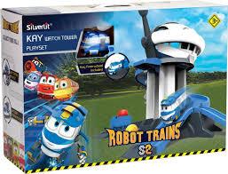 <b>Игровой набор</b> Robot Trains Дозорная <b>башня</b>, 80189 — купить в ...