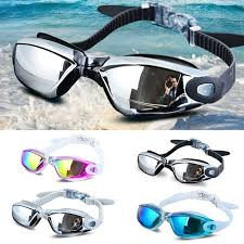Aegend <b>Swim Goggles Electroplating UV</b> Waterproof Anti fog ...
