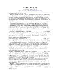 best photos of resumes for government contract specialist in compliance resume sample