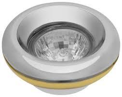 Купить <b>Встраиваемый светильник</b> De Fran FT 303, хром / золото ...