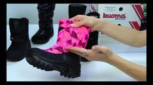 Зимняя обувь <b>Kuoma</b> - YouTube
