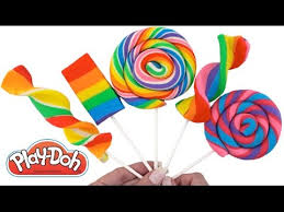 How to Make Play-Doh <b>Lollipops</b> * <b>Creative</b> Fun for Kids * Play ...