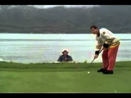 Happy Gilmore - You Will Not Make This Putt Ya Jackass - YouTube via Relatably.com