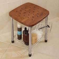 Small Bathroom Stools Bathroom Stools Teak Corner Shower Stool Small Corner Teak Shower